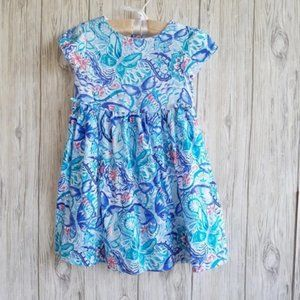 Gymboree Butterfly Summer Floral Dress Size 5T